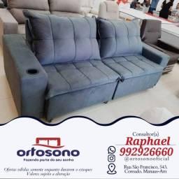 Título do anúncio: # Sofa Sofa Retratil - entrega gratis