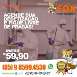 DEDETIZAÇÃO DEDETIZADORA APARTIR 59.90