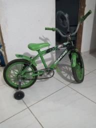Título do anúncio: Bicicleta infantil masculino