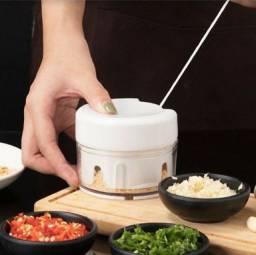 Mini Triturador De Alimentos Manual