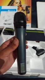 Microfone sem fio senheiser geração 02 Freq. Range. 740-776MHz semi novo na caixa!!!