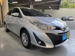 Yaris Sedam 1.5 XL-Flex-AT-2019-Único Dono- Garantia Fábrica!!