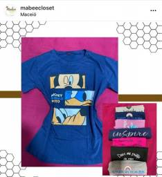 2 T-Shirts por R$25,00