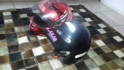 Dois capacete número 58