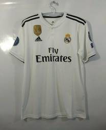 Camisa Original Adidas Real Madrid - Temporada 2018/2019