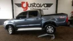 Toyota Hilux Srv CD 3.0 4x4 Aut/2010 Super Inteira - 2010
