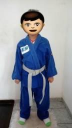 Kimono Atama Azul Infantil (Judô/Jiu-Jitsu)