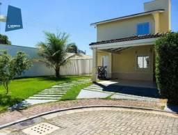 Casa Duplex 150 m² para locação, Grand Jardins Eusébio, 3 Suítes 5 Vagas, Lote 500 m², Eus