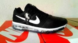 Tênis Nike Air Max Preto - Branco , número 38, 39, 40, 41, 42 e 43