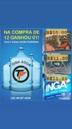 Disk água mineral 20l