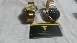 Relógio de luxo unissex