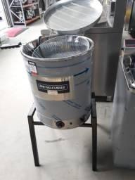 TFAO-40CG Fritador, Fritadeira Elétrica 220v, 24L de Óleo e 14L de Água -Metalcubas