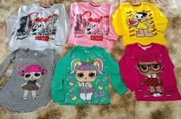 Camisetas e conjuntos infantis