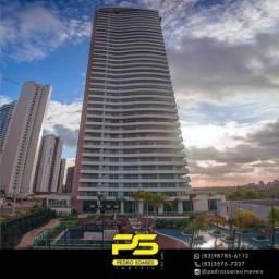 Título do anúncio: Apartamento com 4 dormitórios à venda, 510 m² por R$ 4.295.082 - Altiplano Cabo Branco - J