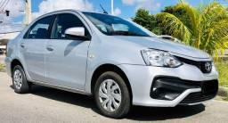 Toyota - Etios XS Automático, sedan, 1.5, Flex, 2018, completo, TOP!!