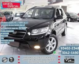 Preto Hyundai Santa fé 2.7 mpfi gls v6 24v gasolina 4p aut 2009 R$22398 - 2009