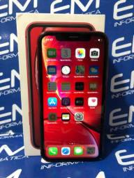 Oportunidade IPhone XR 64Gb Red - Seminovo - com nota e garantia, somos loja fisica