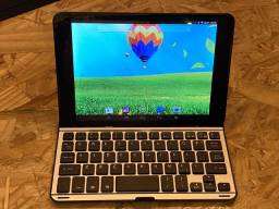 Tablet 8 c/ teclado bluetooth