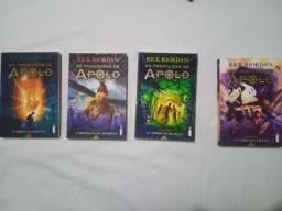 Quadriologia As provações de Apolo - Livros Novos