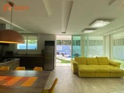 Casa mobiliada no Condomínio Haras do Rio do Ouro, 3 suítes, Bairro Ariribá em Balneário C