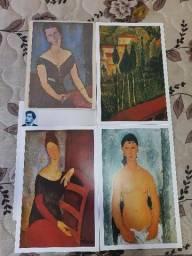 Título do anúncio: Coleção Telas Famosas de Amedeo Modigliani