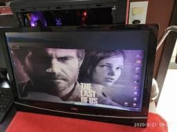 TV 24 full hd / Pol com defeito + Monitor Samsung 15 com defeito