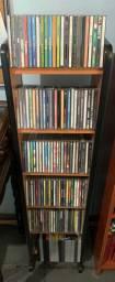 Coleção com mais de 100 CDs + Móvel + Brinde Muito Barato