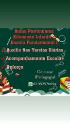 Aulas Particulares Educação Infantil e Ensino Fundamental I