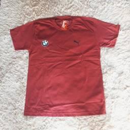 Camisas top da puma bmw