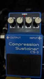 Pedal Boss Sustainer Cs-3 Compression Compressor