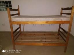 Beliche c um colchão + colchão de casal