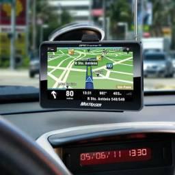 GPS Multilaser Tracker TV LCD 4,3 Pol. Touch FM