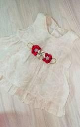 03 vestidos bebê menina