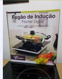 Fogão De Indução Digital Fischer 1 Boca Vitrocerâmico 220v
