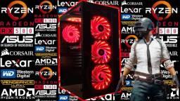PC Gamer NOVO c/ AMD Ryzen 5 Hexa Core + RX 580 8GB