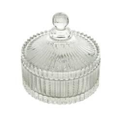 Bomboniere Decorativa Cristal Potiche Carousel Lyor
