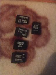 Cartões de memória 2g