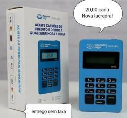 Maquininha point mini Bluetooth mercado pago/  20,00 uma dua é 30,00