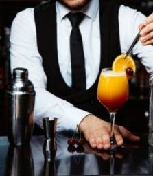 Serviço de barman e garçom