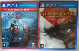 God of War 4(Lacrado)+God of War 3 PS4