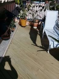 Carpinteiro escadas deck