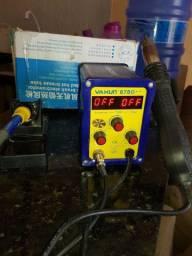 Estação de ar e solda yaxun 878D