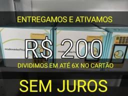 Máquinas de cartão Moderninha Pro2 R$200