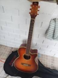 Vendo violão seminovo eletrico