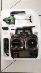 mini helicóptero v955 4 canais
