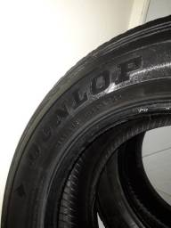 Vende-se dois Pneus Aro 17 Dunlop 265/6517 1128 AT25 Seminovos