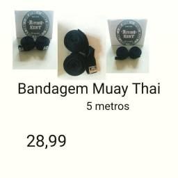 Bandagens muay thai Fight Produtos novos e embalados 5 metros comprimento