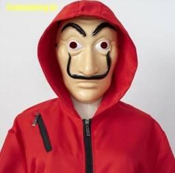 Traje Cosplay La Casa de Papel (com máscara)