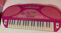 teclado infantil meninas super poderosas