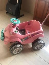 Título do anúncio: Vendo carrinho de criança rosa